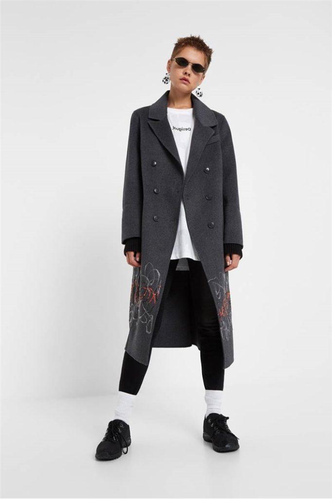 Kabát Desigual Yelay