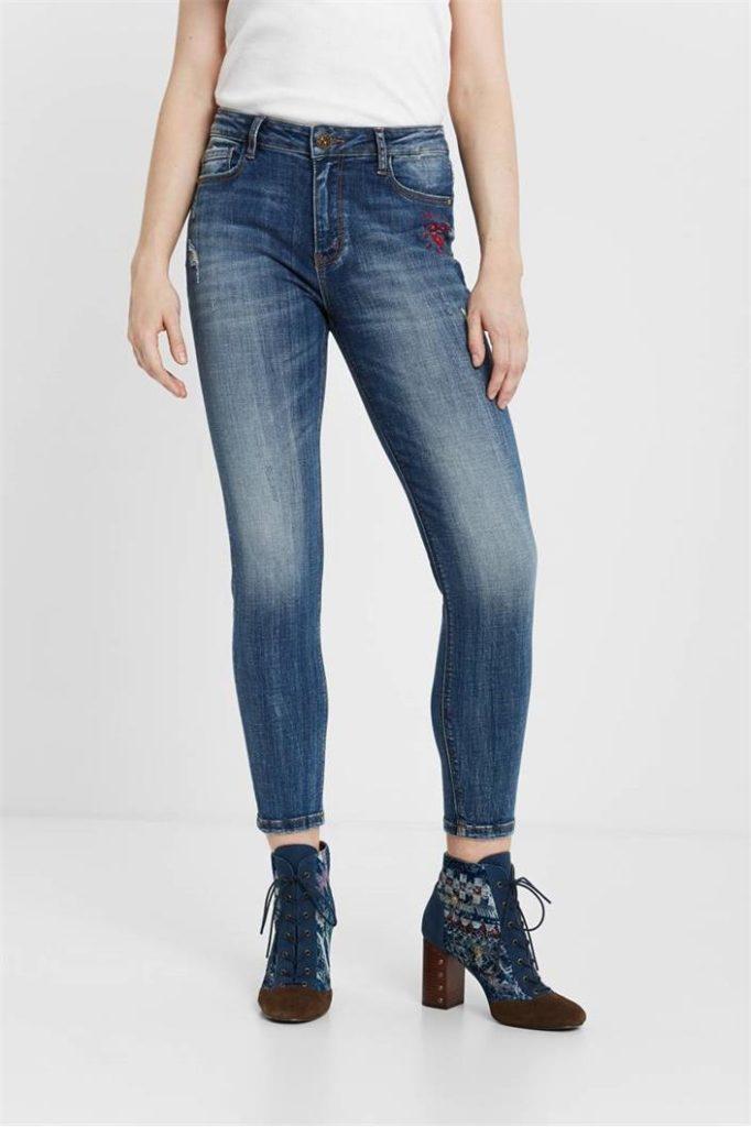 jeansy Desigual Alba