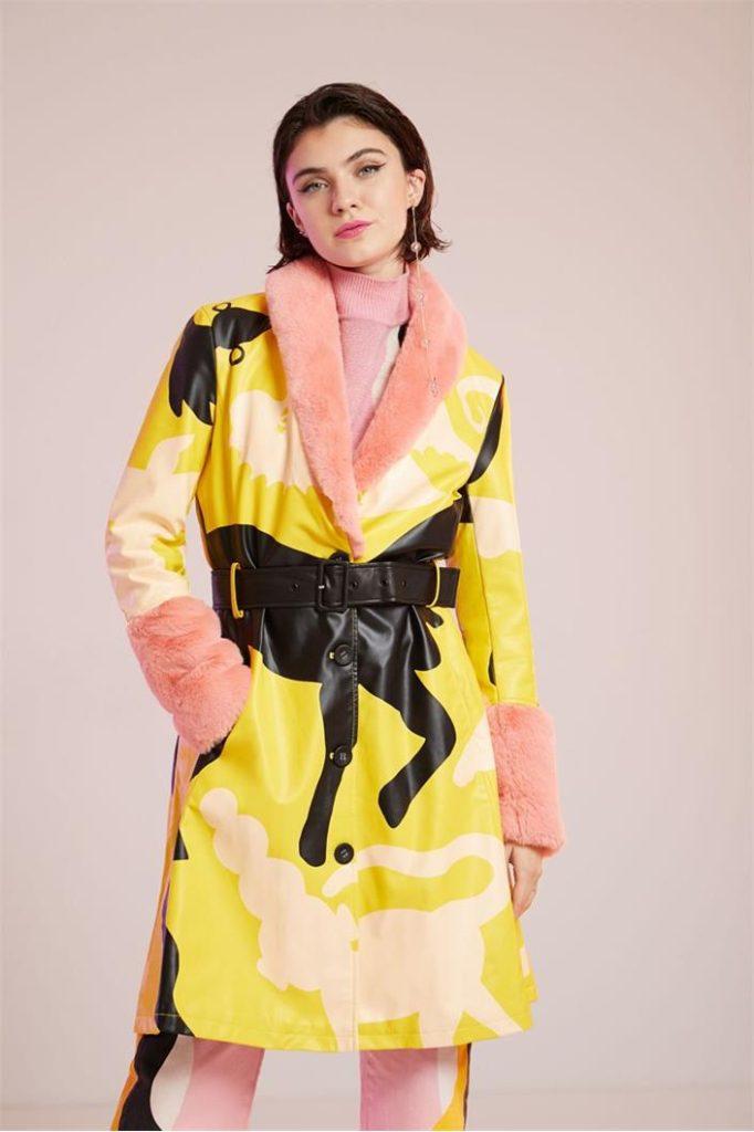 Miranda Makaroff kolekce - kabát Freya